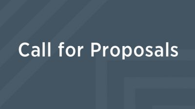 Call for proposals4