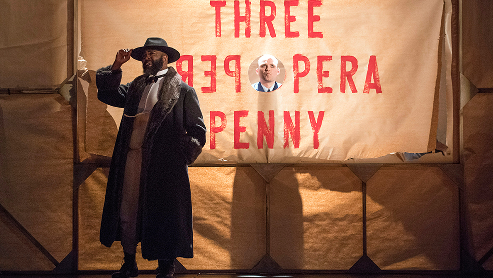 1. George Ikediashi and Rory Kinnear in The Threepenny Opera. Photo by Richard Hubert Smith-wb