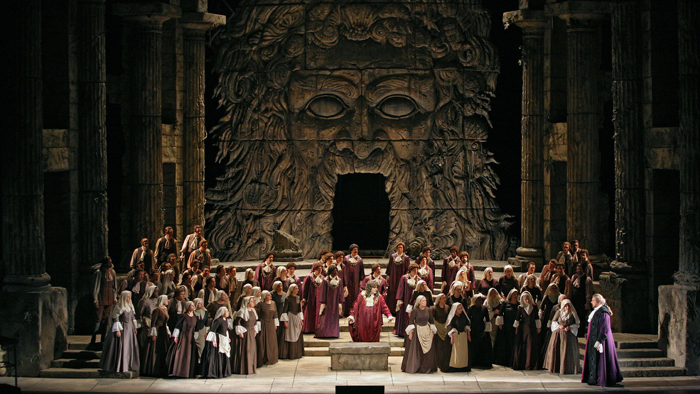 Idomeneo. Photo by Marty Sohl - Metropolitan Opera-wb