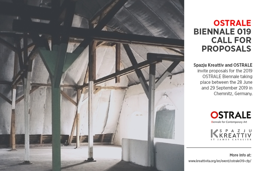 OSTRALE Biennale 019 Call for Proposals