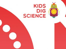 kids dig science - Hero