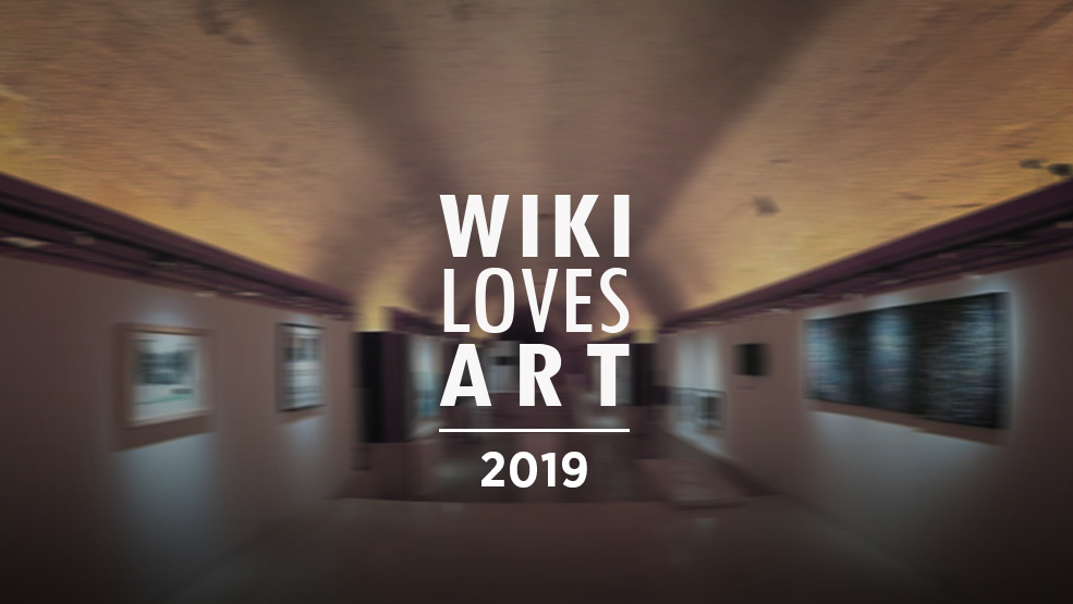 wiki loves art 2019 - Hero