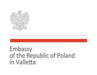 Polish Embassy in Valletta logo
